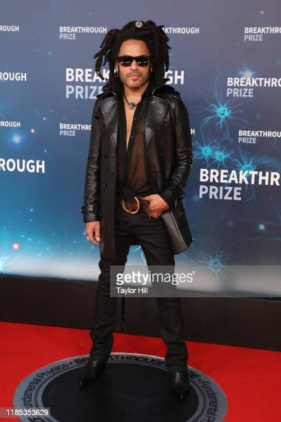 Lenny Kravitz attends the 2020 Breakthrough Prize Ceremony at NASA Ames Research Center on November 03, 2019 in Mountain View, California.