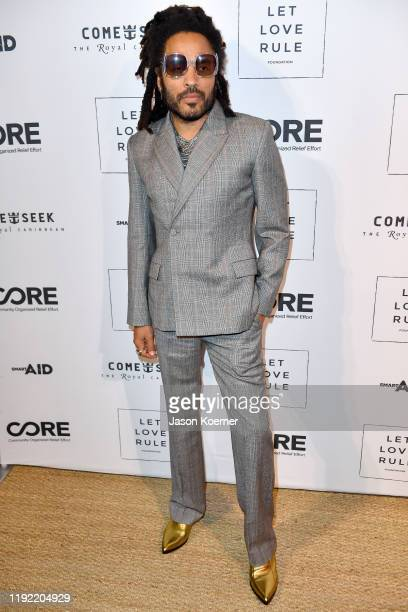 Lenny Kravitz attends the Core x Let Love Rule Benefit during Art Basel Miami 2019 on December 05, 2019 in Miami, Florida.