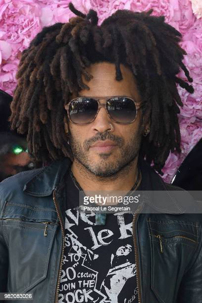 Lenny Kravitz attends the Dior Homme Menswear Spring/Summer 2019 show as part of Paris Fashion Week on June 23 2018 in Paris France