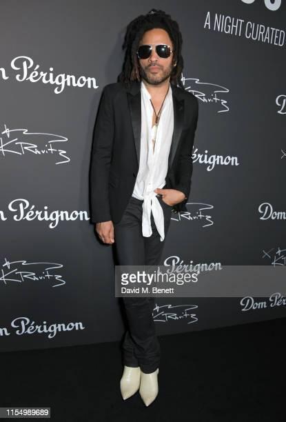 Lenny Kravitz attends the Lenny Kravitz & Dom Perignon 'Assemblage' exhibition, the launch Of Lenny Kravitz' UK Photography Exhibition, on July 10,...