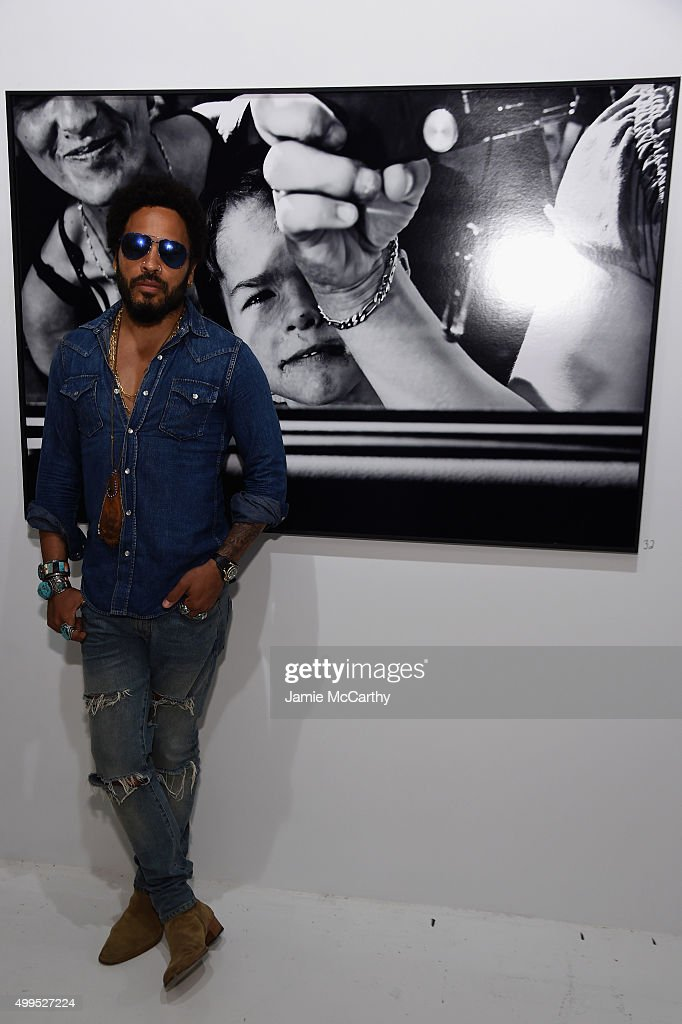 Opening Of Lenny Kravitz FLASH Photography Exhibition
