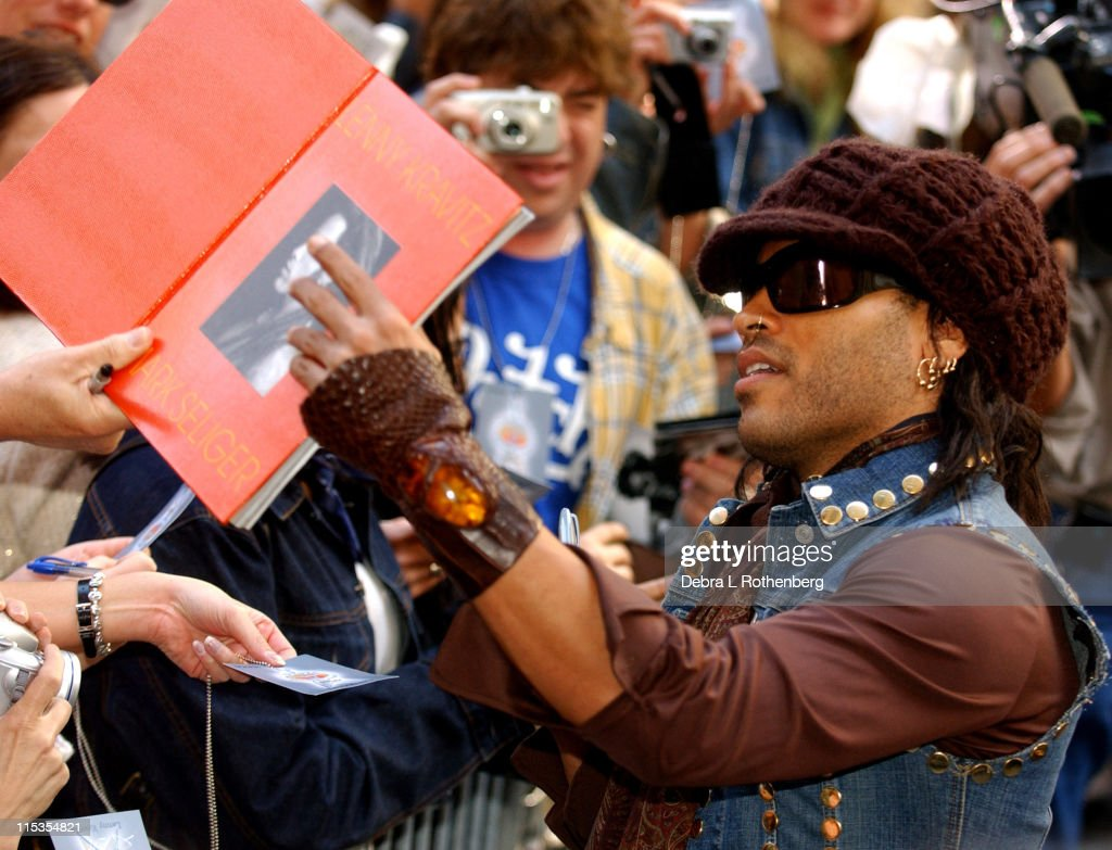 "The ""Today"" Show's 2004 Summer Concert Series - Lenny Kravitz"