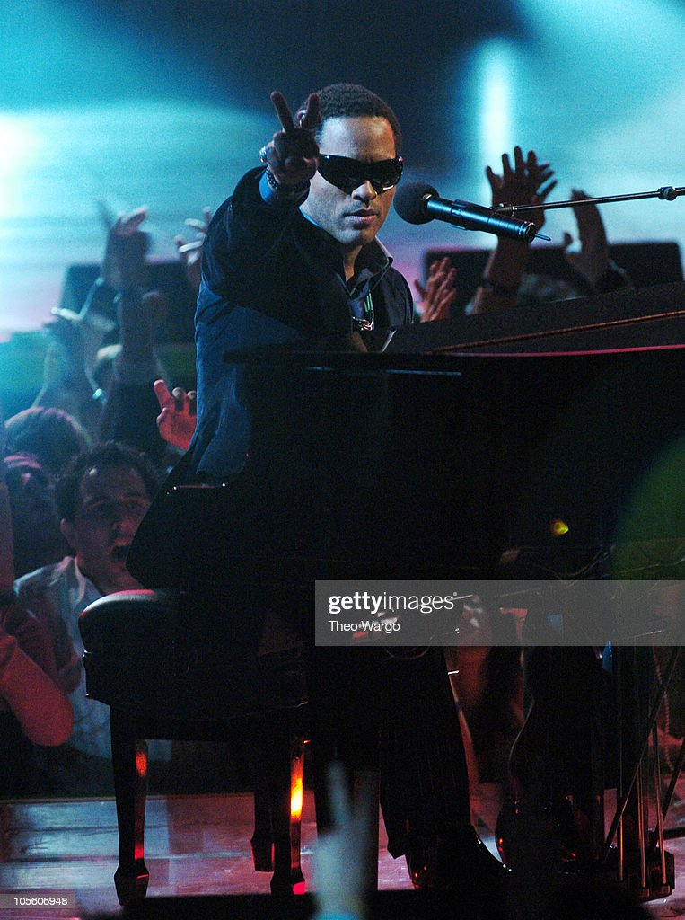 Lenny Kravitz during MTV Video Music Awards Latin America 2004 - Show at Jackie Gleason Theater in Miami, Florida, United States.