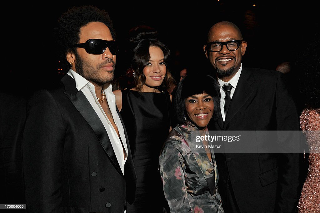 Lenny Kravitz, Keisha Whitaker, Cicely Tyson and Forest Whitaker attend Lee Daniels' 'The Butler' New York premiere, hosted by TWC, DeLeon Tequila and Samsung Galaxy on August 5, 2013 in New York City.