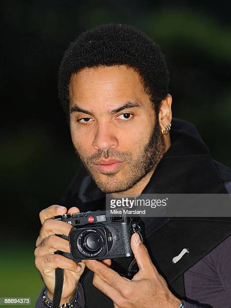 Lenny Kravitz meets press ahead of his 'Let Love Rule 2009 Tour' at The Cadogan Hotel on June 24 2009 in London England