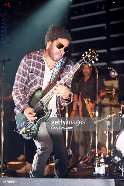 Lenny Kravitz performs at The Fillmore New York at Irving Plaza on October 11 2009 in New York New York
