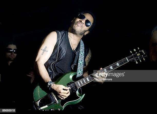Lenny Kravitz performs at the O2 Academy on June 25 2009 in Glasgow United Kingdom