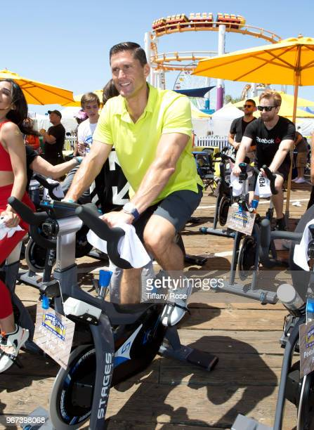 Lenny Krayzelburg attends the 8th Annual Pedal On The Pier Fundraiser at Santa Monica Pier on June 3 2018 in Santa Monica California