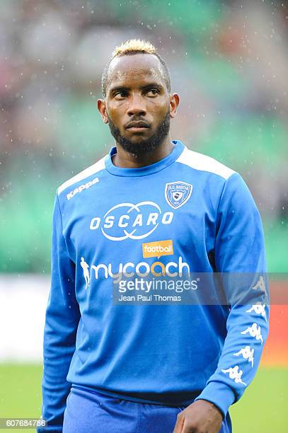 Lenny NANGIS of Bastia during the Ligue 1 match between AS Saint Etienne and Bastia at Stade GeoffroyGuichard on September 18 2016 in SaintEtienne...