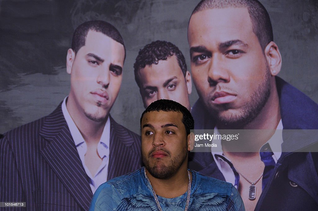 Lenny of The Aventura Group attends a press conference to present their concert at St. Regis Hotel on June 1, 2010 in Mexico City, Mexico.