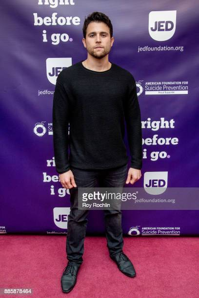 Lenny Platt attends the 'Right Before I Go' Benefit performance at Town Hall on December 4 2017 in New York City