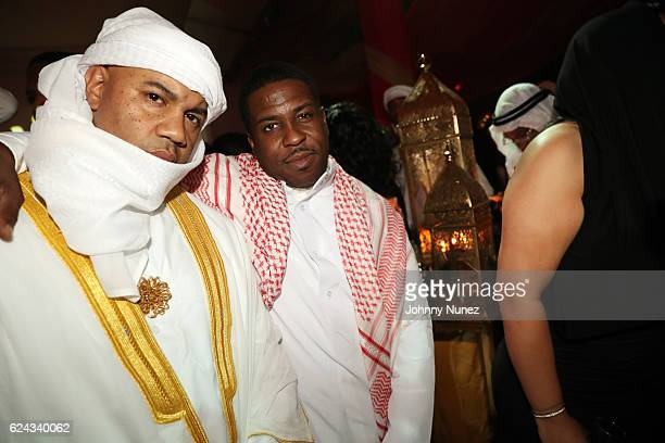 Lenny S and Paul Cain attend Fabolous' A Night In FABU DHABI Birthday Celebration on November 18 2016 in New York City