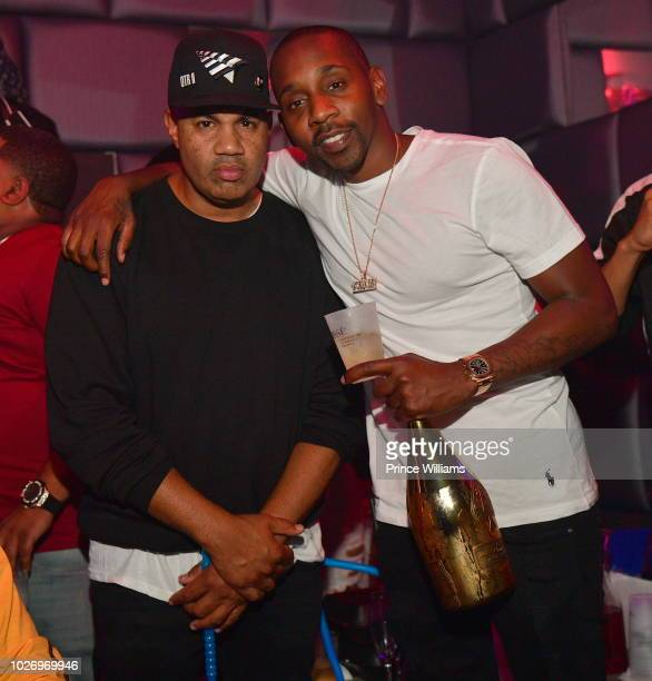 Lenny S and Ruggs attend The After Party at SL Lounge on August 26 2018 in Atlanta Georgia