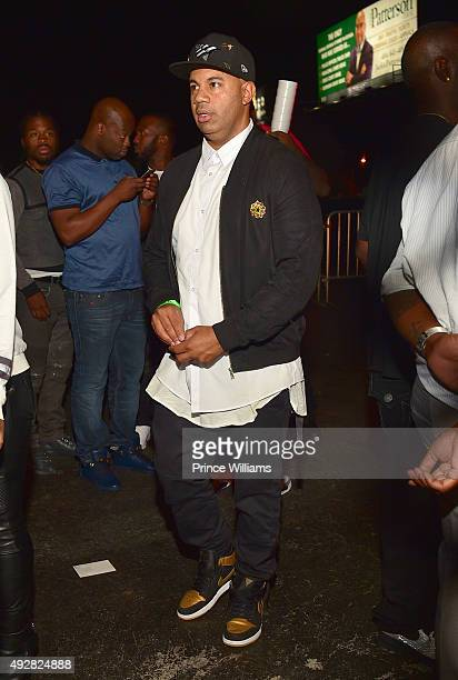 Lenny S attends Jeezy's Birthday Celebration at Gold Room on October 8 2015 in Atlanta Georgia