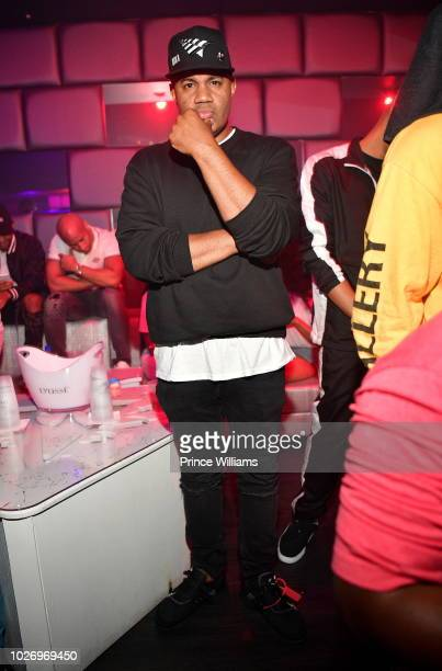 Lenny S attends The After Party at SL Lounge on August 26 2018 in Atlanta Georgia