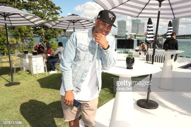 Lenny Santiago attends the Samsung /make Creators Brunch During Miami Art Week on December 07 2018 in Miami Florida