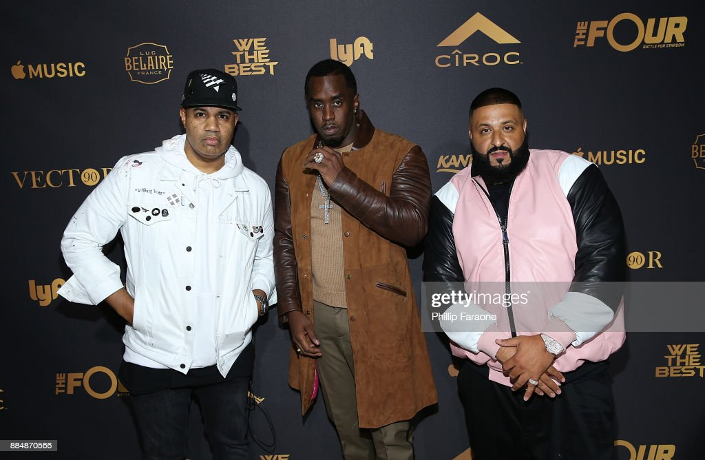 Lenny Santiago, Sean 'Diddy' Combs, and DJ Khaled attend Ciroc Celebrates DJ Khaled's Birthday in Beverly Hills on December 2, 2017 in Beverly Hills, California.
