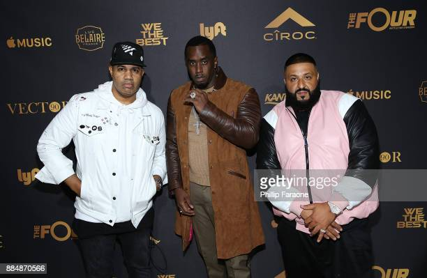Lenny Santiago Sean 'Diddy' Combs and DJ Khaled attend Ciroc Celebrates DJ Khaled's Birthday in Beverly Hills on December 2 2017 in Beverly Hills...