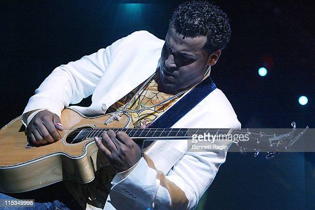 Lenny Santos during Aventura God Project Tour at the Theater at Madison Square Garden March 11 2006 at Theater at Madison Square Garden in New York...
