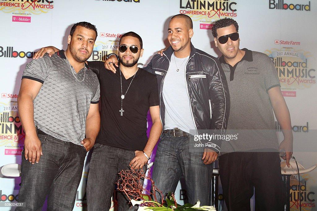 Billboard Latin Music Conference - Superstars Aventura