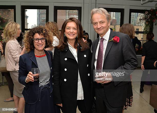 Lenore Rice, Debra Black and Bob Rice attend the Floral Salon celebration by Garden Collage and Phaidon on May 4, 2016 in New York City.