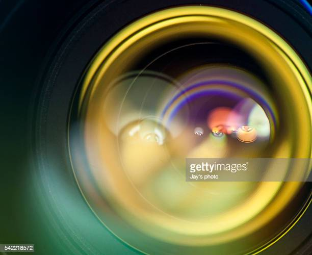 lens flare - lens optical instrument stock photos and pictures