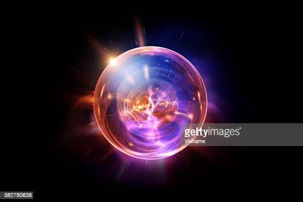 lens orb - glowing stock pictures, royalty-free photos & images