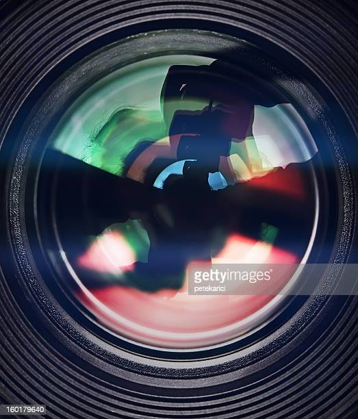 lens - movie camera stock pictures, royalty-free photos & images