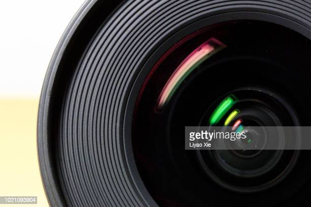 lens with its flare - video camera stock pictures, royalty-free photos & images