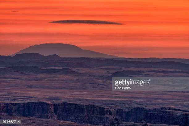 Lenticular Over Navajo Land