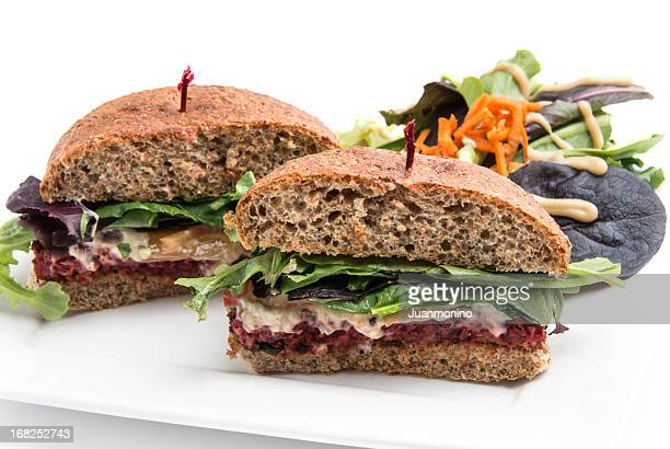 Lentilha Burger (Vegan alimentos