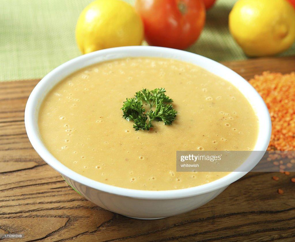 Lentil Soup : Stock Photo