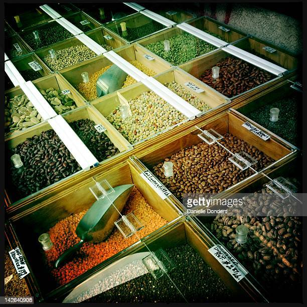 Lentils and beans for sale