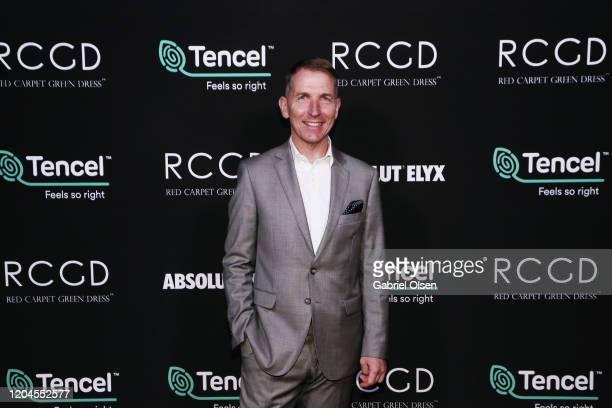 Lenzing Global Branding VP Harold Weghorst attends Red Carpet Green Dress at the Private Residence of Jonas Tahlin CEO of Absolut Elyx on February 06...