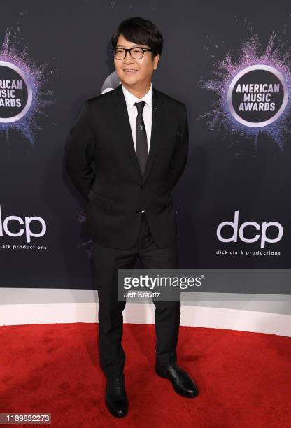 Lenzo Yoon CoCEO of Big Hit Entertainment attends the 2019 American Music Awards at Microsoft Theater on November 24 2019 in Los Angeles California