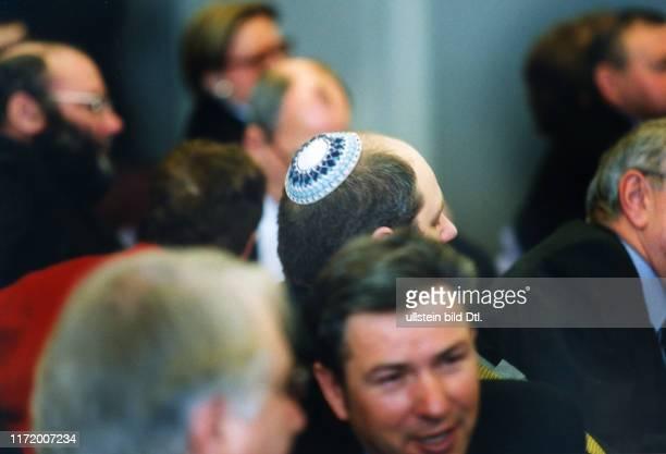 Leo Baeck Preis Verleihung an Berthold und Else Beitz Juden Jude Centrum Judaicum