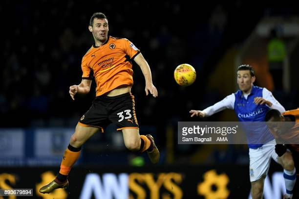 Leo Bonatini of Wolverhampton Wanderers during the Sky Bet Championship match between Sheffield Wednesday and Wolverhampton at Hillsborough on...
