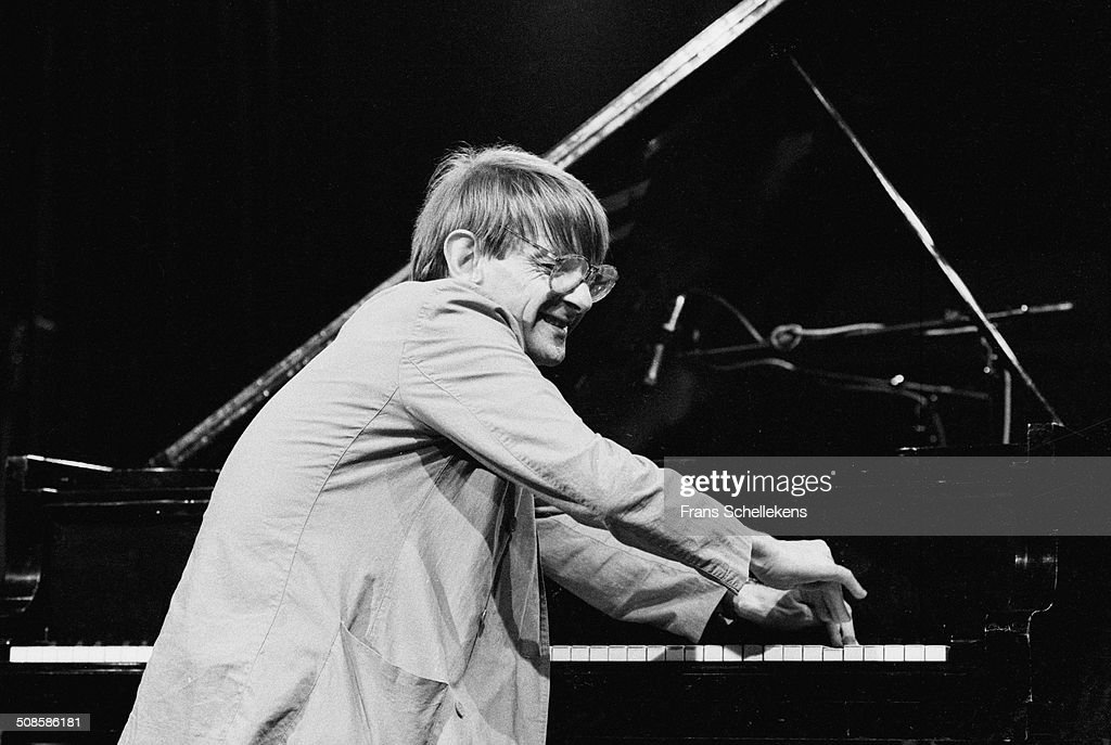 Leo Cuypers, piano, performs at the BIM Huis on 1st November 1994 in Amsterdam, Netherlands.
