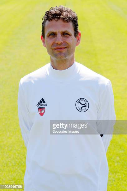 Leo de Wit of Almere City during the Photocall Almere City at the Yanmar Stadium on July 16 2018 in Almere Netherlands