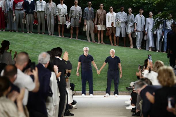 ITA: Giorgio Armani - Runway - Milan Men's Fashion Week Spring/Summer 2021/22