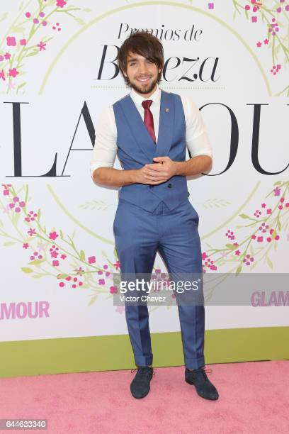 Leo Deluglio attends the Glamour Mexico magazine Beauty Awards 2016 at Jardin Versal on February 23 2017 in Mexico City Mexico