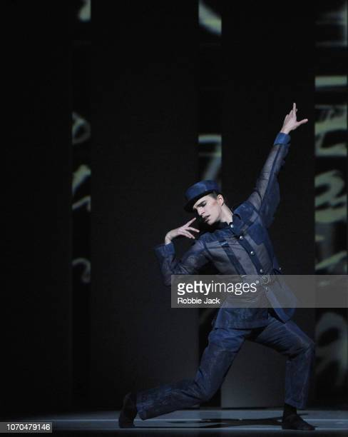 Leo Dixon in The Royal Ballet's production of Alastair Marriott's The Unknown Soldier at The Royal Opera House on November 19 2018 in London England