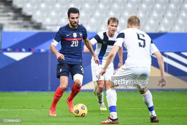 Leo DUBOIS of France during the international friendly match between France and Finland at Stade de France on November 11, 2020 in Paris, France.