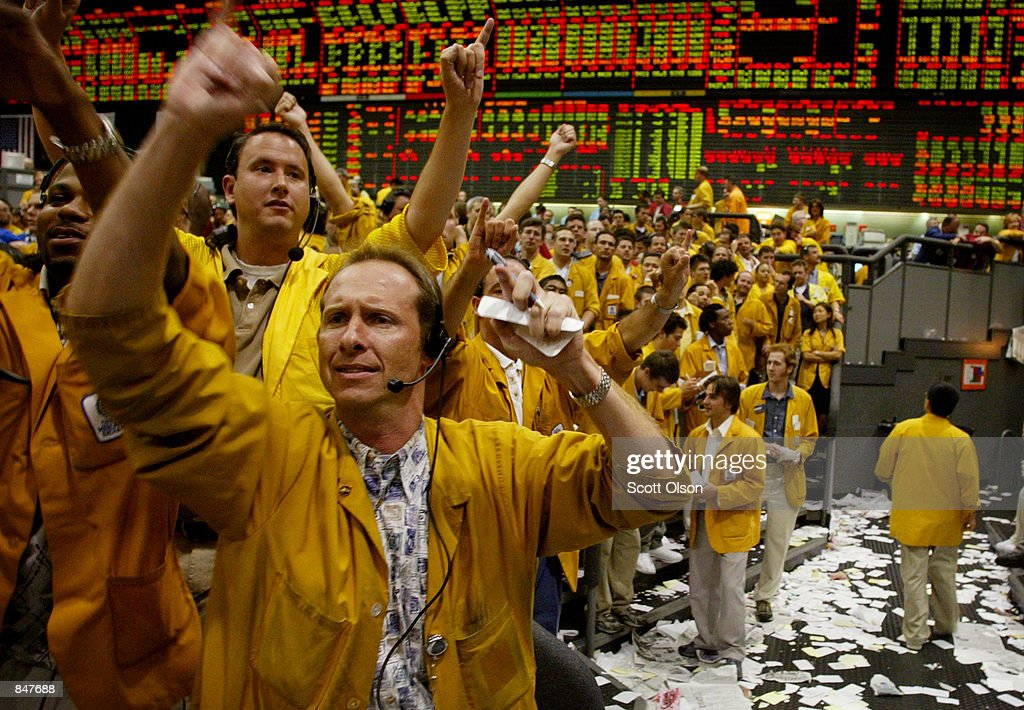 Leo Dubrovin A Clerk In The Eurodollar Futures Trading Pit At