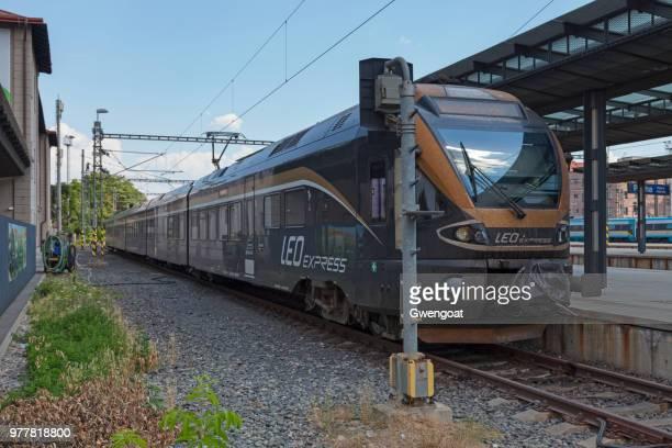 Leo Express in Praha hl.n
