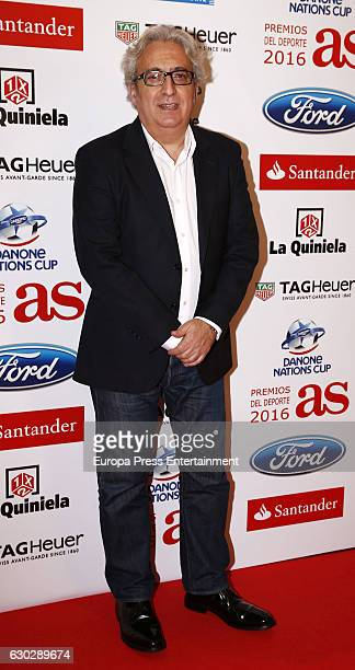 Leo Harlem attends 'As Del Deporte' awards 2016 photocall at Palace Hotel on December 19 2016 in Madrid Spain