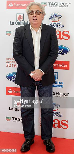 Leo Harlem attends the 'As del deporte awards' photocall at Palace hotel on December 19 2016 in Madrid Spain
