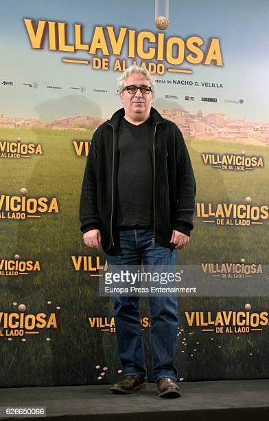 Leo Harlem attends 'Villaviciosa de al lado' photocall at Palacio de los Duques hotel on November 29 2016 in Madrid Spain