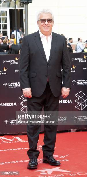 Leo Harlem during the 21th Malaga Film Festival closing ceremony at the Cervantes Teather on April 21 2018 in Malaga Spain