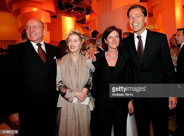 Leo Herl Madeleine Schickedanz majority shareholder of German department store corporation KarstadtQuelle Corinie Middelhoff and Thomas Middelhoff...
